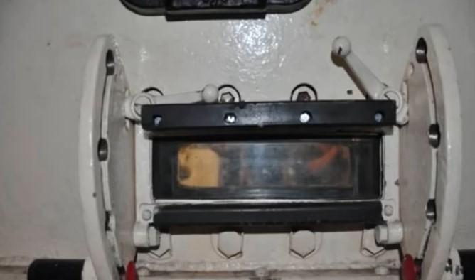 Для обзора вперед использовался смотровой прибор Fahrersehklappe- 30