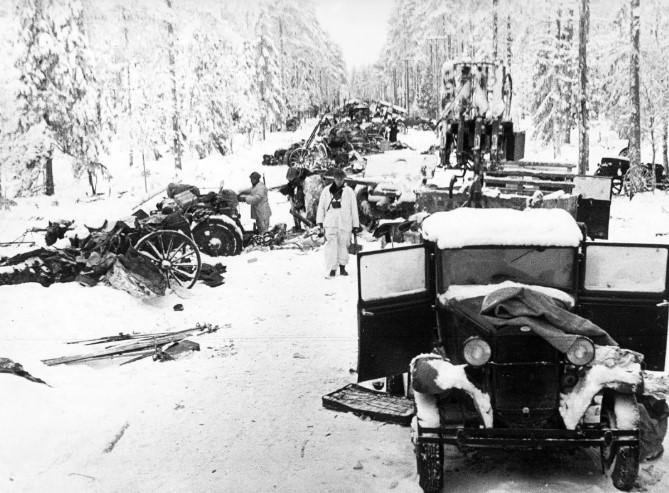 колонна война 1939 года