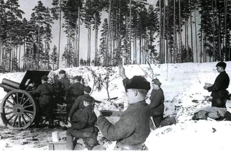 Советско-финская война, в Финляндии известна как Зимняя война