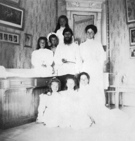 Григорий и царские дети
