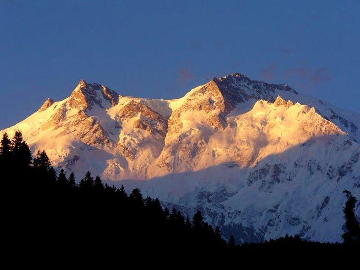Гора Нанда -Парбат