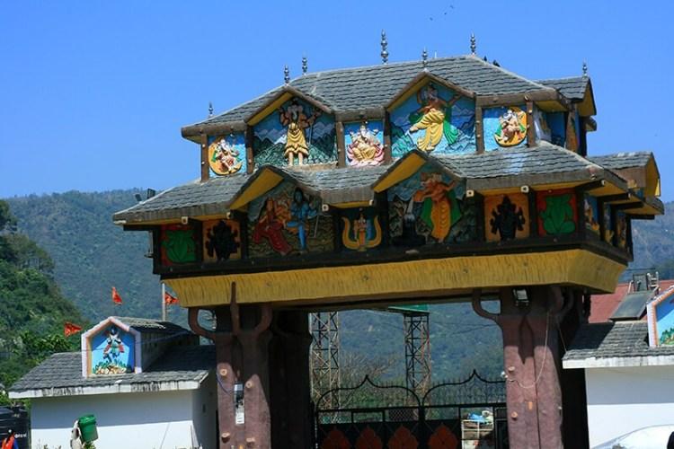 Манди Торговый Город в Индийском Штате Химачал Прадеш