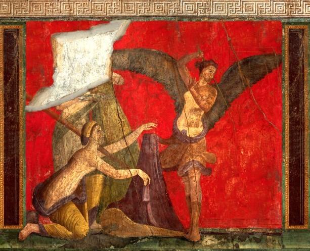 Римская настенная живопись  помпеи