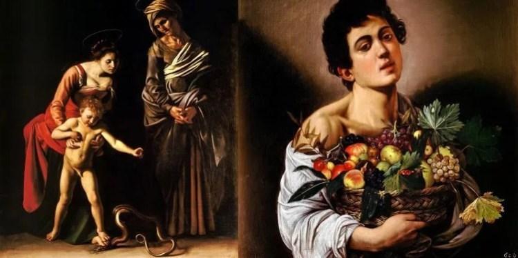 картины итальянского живописца Караваджо