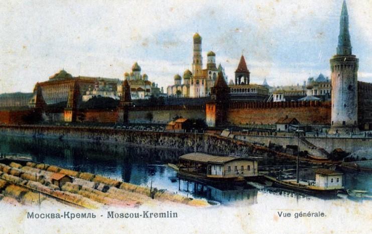 Кремль и башни история Москвы