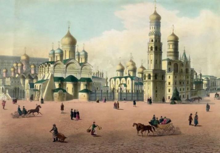 кремль в старину
