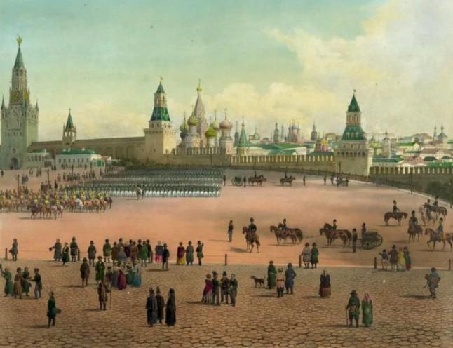 Москва история Кремля
