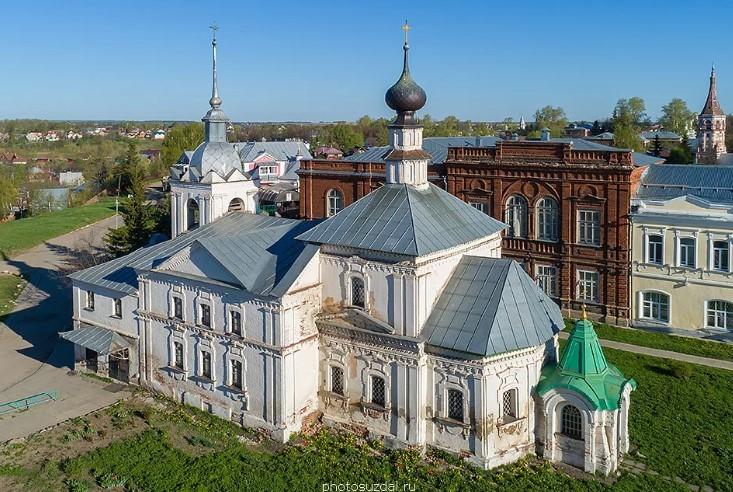 суздаль Кресто-Никольская церковь