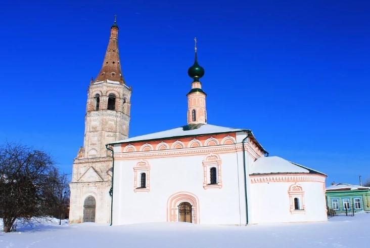 суздаль Летняя церковь Св. Николая