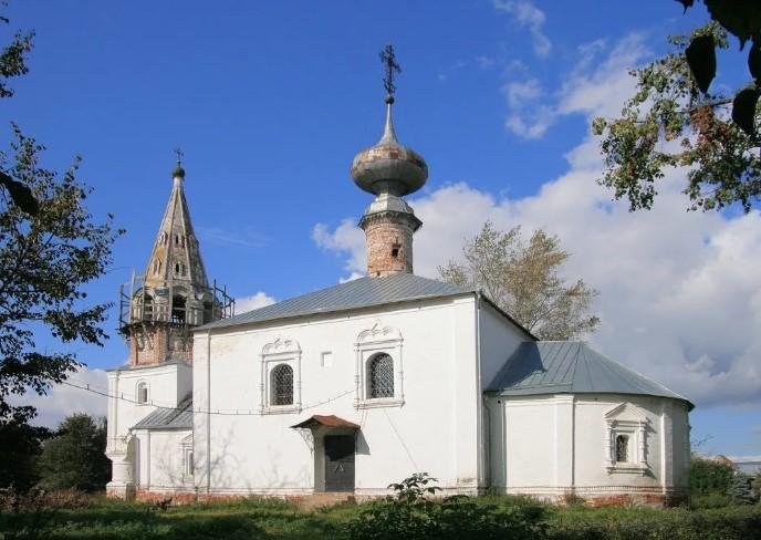 суздаль Церковь Иоанна Предтечи
