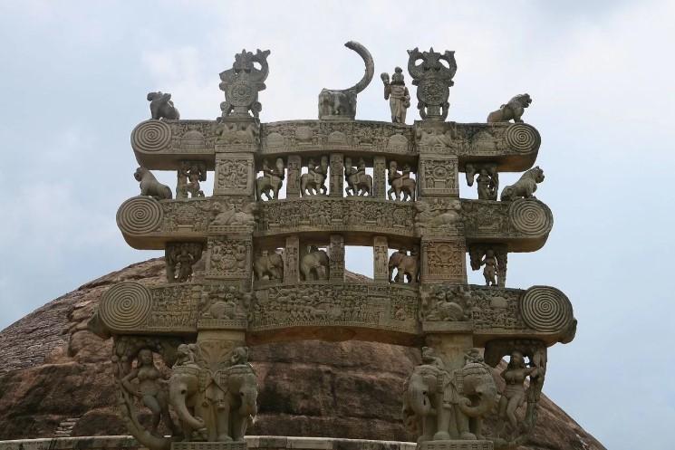 Ступы в Буддизме Религиозные Сооружения Чистая Энергия ворота Санчи