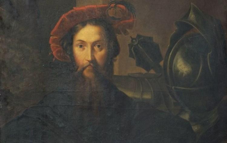 Христофор Колумб полотно художника