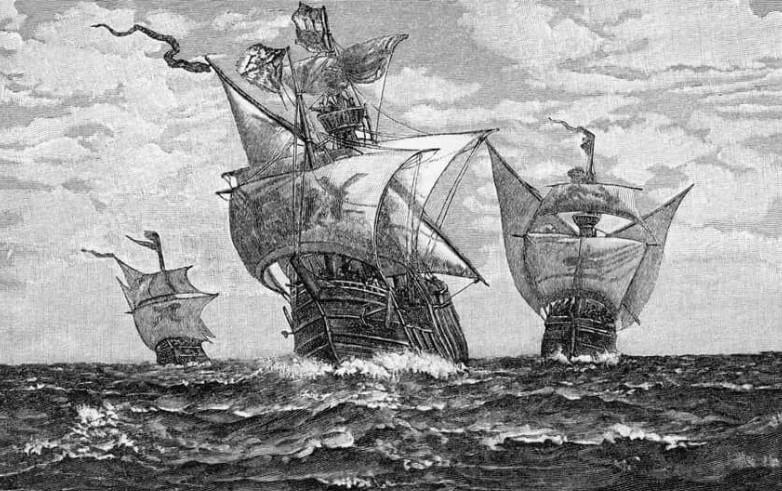 Кристофоро Коломбо открыл Америку