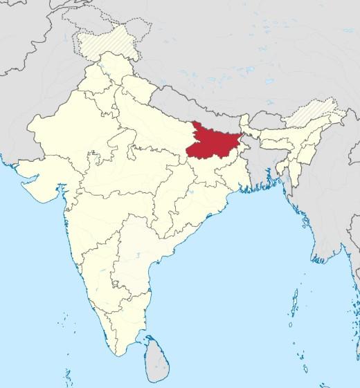 штат Бихар