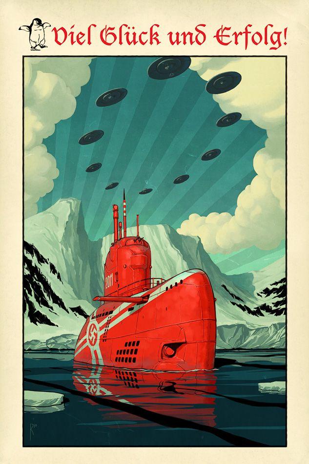 субмарины Гитлера в Антарктиде