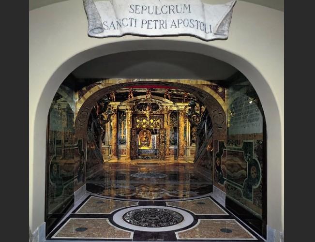 Гробница Святого Петра. Загадки Подземелье Ватикана