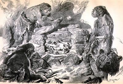 Обезьяна или Адам. Появление Мутантной Самки Гоминида - Евы