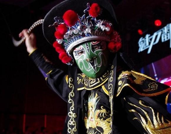 китайская маска