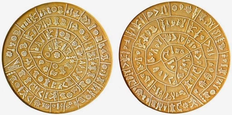 Фестский Диск с Древней Славянской Письменностью