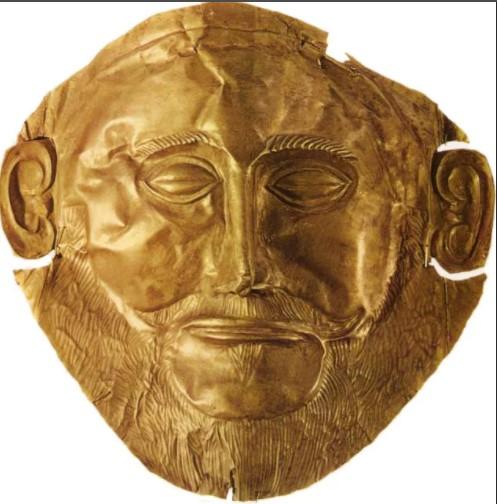 Сокровище Микены. Древними рельефные изображениями