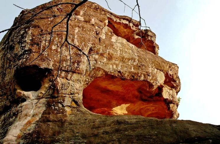 индия пещеры