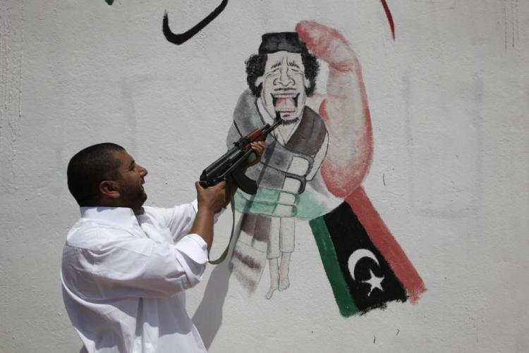 лидер Ливии