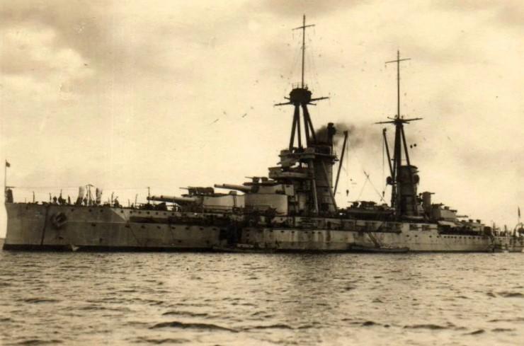 итальянского корабля «Юлий Цезарь»