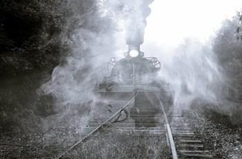 Поезд призрак в Севастополе. Следы катастрофы военного флота
