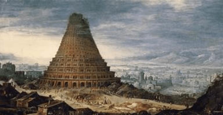Вавилонская башня. Размер сооружения. Обзор мифов