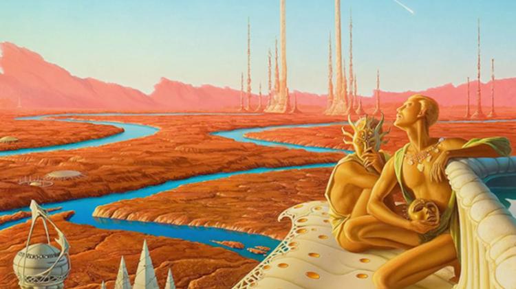 Марс Обитаем фантазии прошлых веков. Аэлита