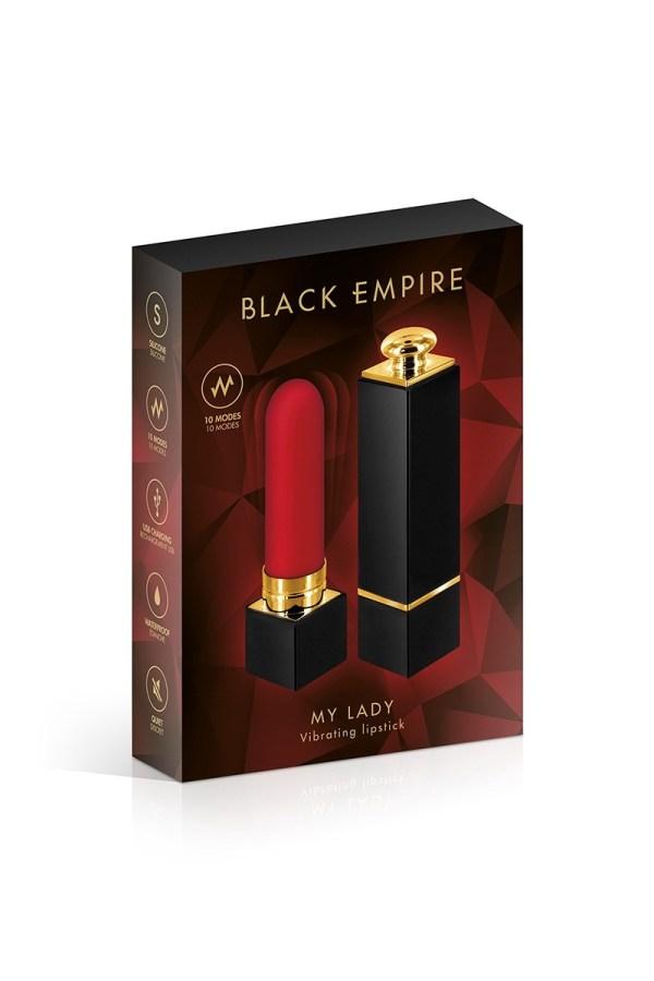 Mini vibro rouge à lèvres My Lady - Black Empire3
