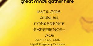 IMCA 2016 Conference