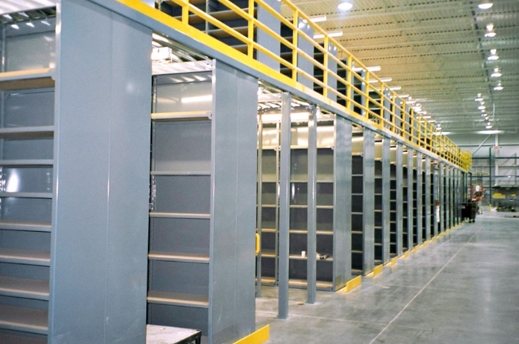 Multi Level Shelving 171 E Z Rect Manufacturing Ltd