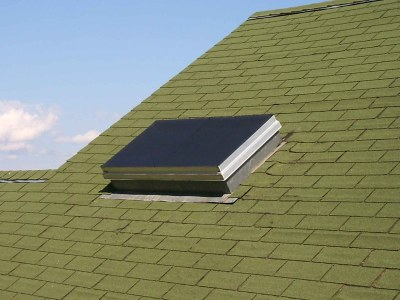 EZ Snap Exterior Blinds for Flat Skylights