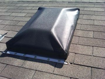 EZ Snap Raised Skylight Exterior Blinds