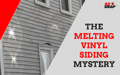 Melting vinyl siding mystery