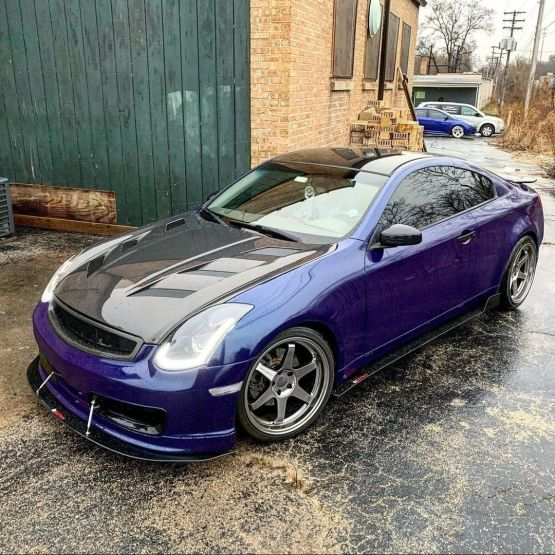G35 Coupe Nismo Front Splitter
