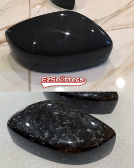 G37 Carbon fiber forged mirror covers