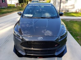 Ford Focus ST Front Splitter