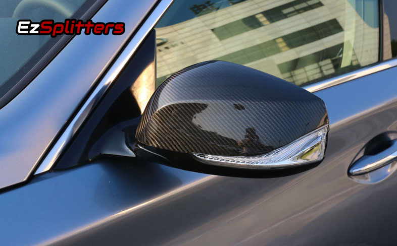 Carbon Fiber Mirror Covers