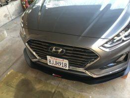 Hyundai Sonata 18-19 front splitter