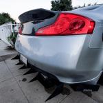 Infiniti G35 Coupe diffuser