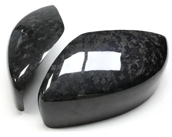 G37 Forged Carbon Fiber side mirror covers