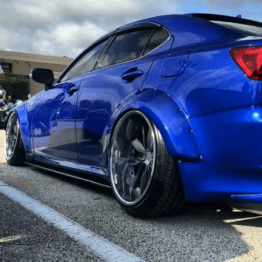 Lexus is250 is350 06-13 Widebody fender flares