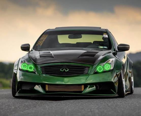 G37 Coupe Halo Kit