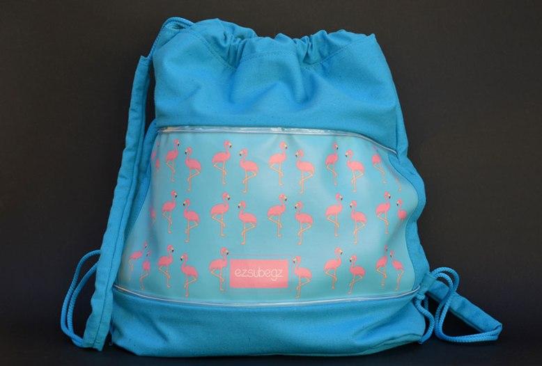 ezsubegz blue flamingo fesztivál táska