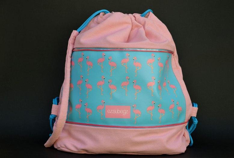 Flamingo fesztivál táska, tornazsák