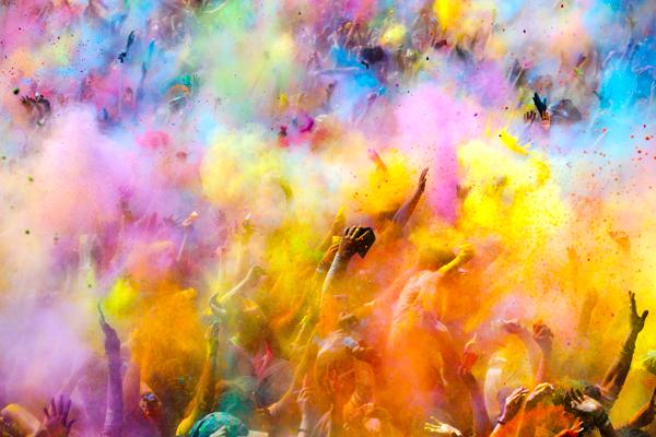 Festival de los colores Holi