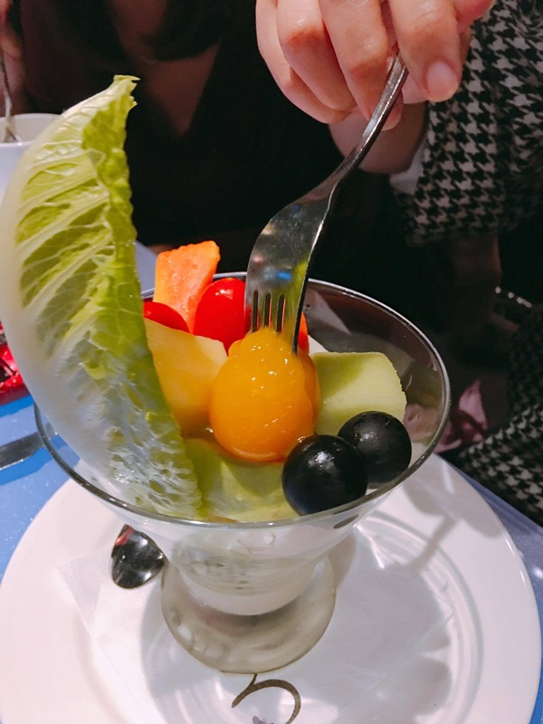 水果優格沙拉