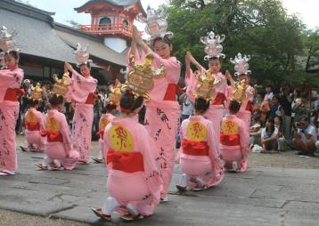 5. 山鹿燈籠祭-1
